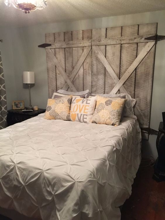 Diy Pallet Bed Head