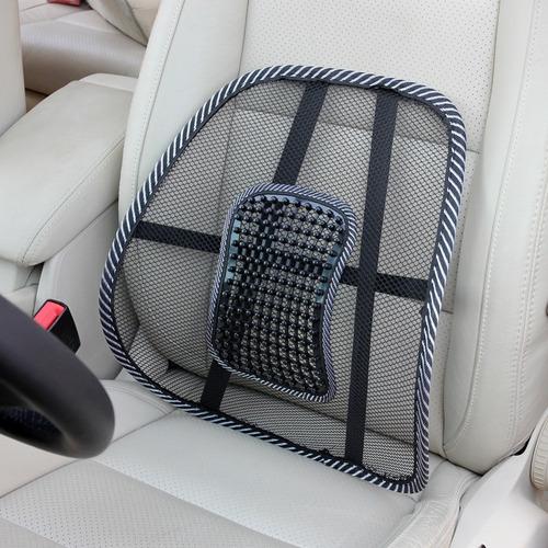 respaldo soporte lumbar para silla o asiento de auto calidad