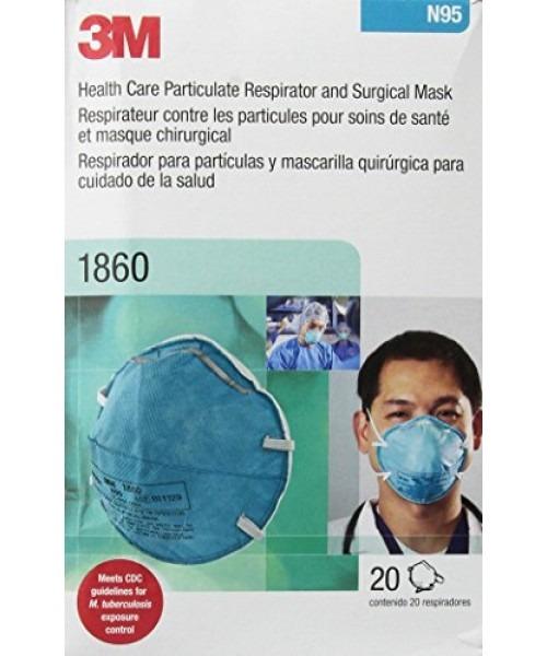Quirúrgica Respirador 20 Caja De 1860 3m Mascarilla Y N95