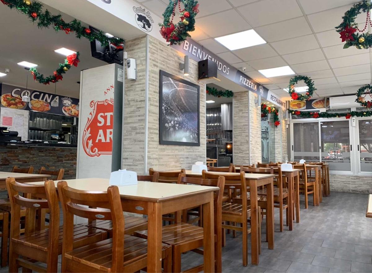 restaurant bar pub delivery pizzeria parrilla negocio llave