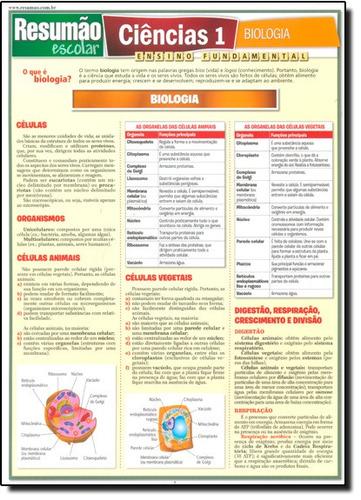 resumão escolar ciências 1 biologia ensino fundamental de eq