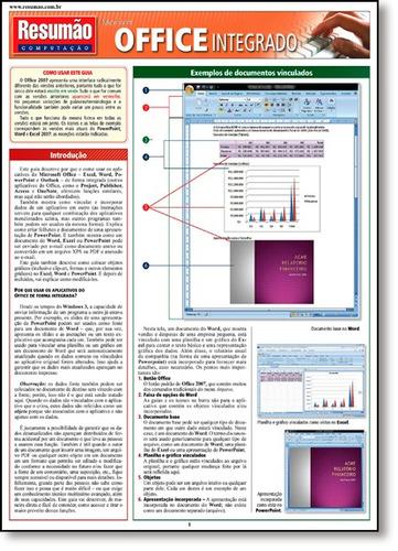 resumão microsoft office integrado de john hales barros fisc