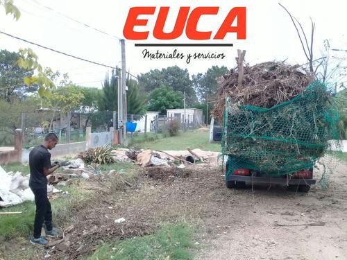 retiro basura podas residuos escombros retiro mugre