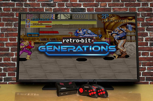retro-bit generations plug and play game console