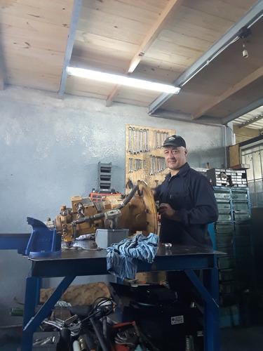 retro excavadora pala grúa grapo bombas maquinas hidráulicas
