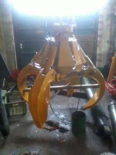 retro excavadoras palas grúas grapo reparaciones hidraulicas
