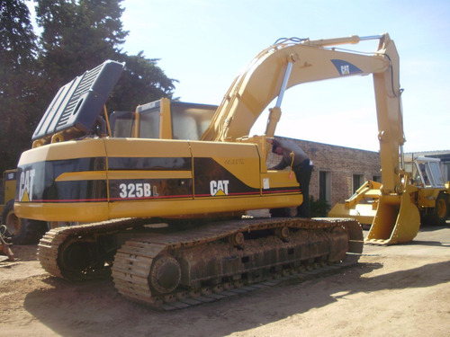 retroexcavadora cat 325 b