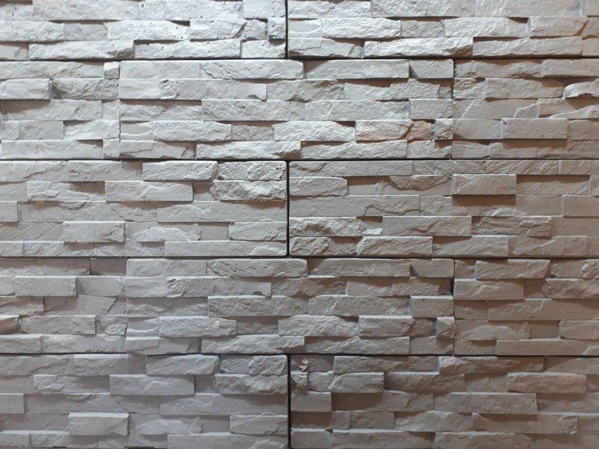 Revestimiento de hormig n imitaci n piedra para paredes 450 00 en mercado libre - Revestimiento paredes imitacion piedra ...
