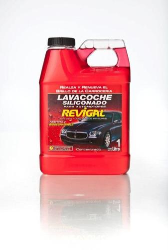 revigal  lavacoche siliconado 1 litro