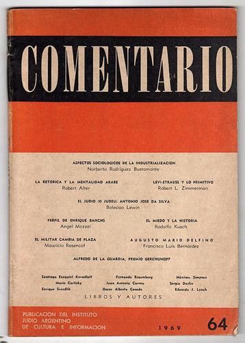 revista comentario nro 64 año 1969