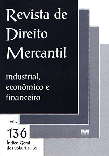 revista de direito mercantil vol 136 de editora malheiros