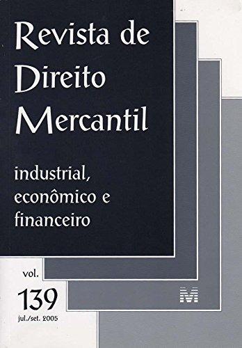 revista de direito mercantil vol 139 de editora malheiros