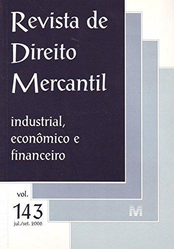 revista de direito mercantil vol 143 de editora malheiros