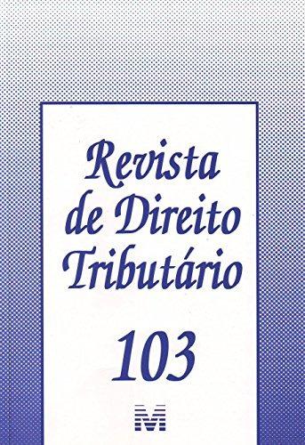 revista de direito tributario vol 103 de editora malheiros