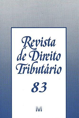 revista de direito tributario vol 83 de editora malheiros