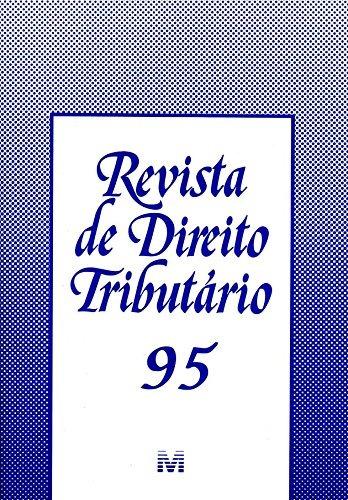 revista de direito tributario vol 95 de editora malheiros
