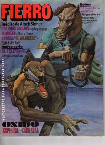 revista de historietas fierro