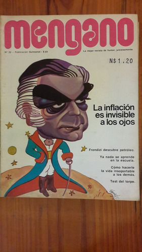 revista de humor mengano nº 32, argentina, década 70