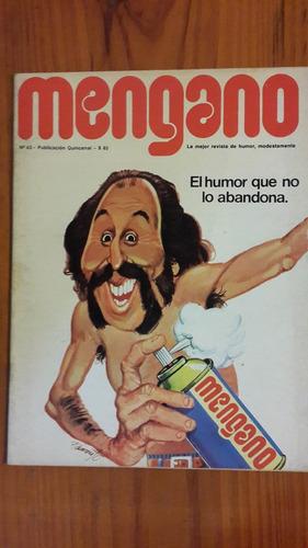 revista de humor mengano nº 43, argentina, década 70