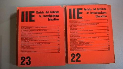 revista del instituto de investigaciones educativas