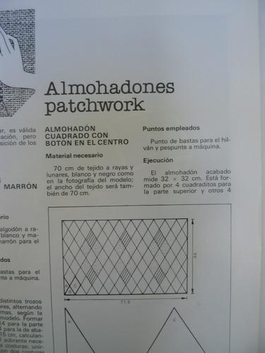 revista enciclopedia salvat de labores,tejido,crochet,diseño