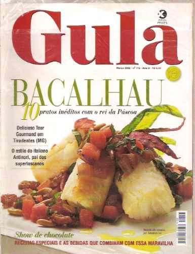 revista gula - bacalhau