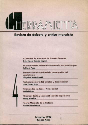 revista herramienta nº4 - julio de 1997