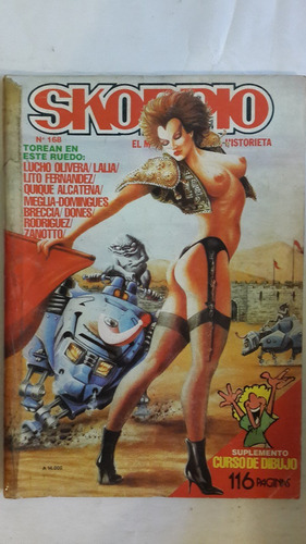 revista historieta argentina skorpio 168