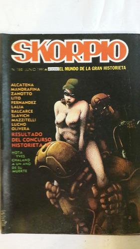 revista historieta argentina skorpio 180