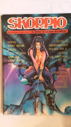 revista historieta argentina skorpio 185