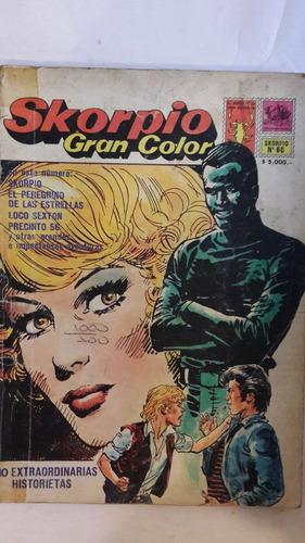 revista historieta argentina skorpio gran color 66