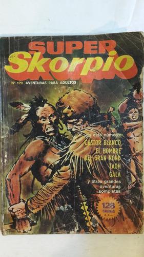 revista historieta argentina super skorpio 129