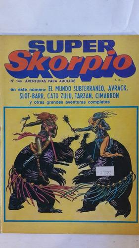 revista historieta argentina super skorpio 146