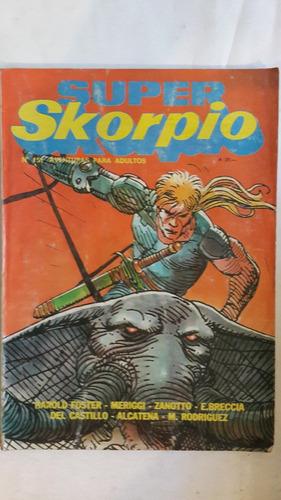 revista historieta argentina super skorpio 151
