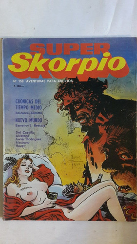 revista historieta argentina super skorpio 158