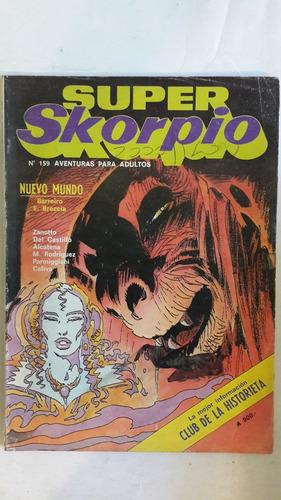revista historieta argentina super skorpio 159