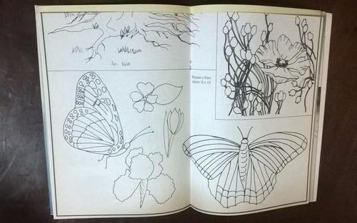 revista manos a la obra pintura decorativa, c/patrones