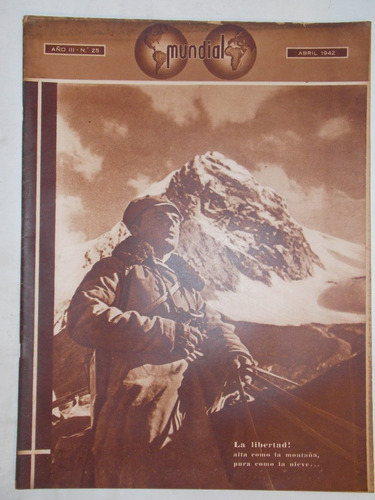 revista mundial, uruguaya década 40, política guerra, nº 25