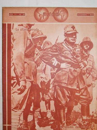 revista mundial, uruguaya década 40, política guerra, nº 40