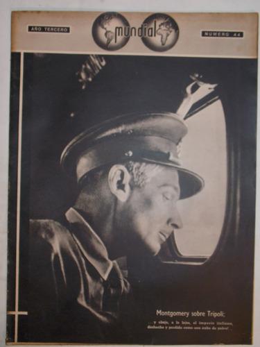 revista mundial, uruguaya década 40, política guerra, nº 44