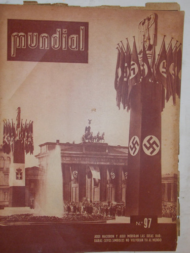 revista mundial, uruguaya década 40, política guerra, nº 97