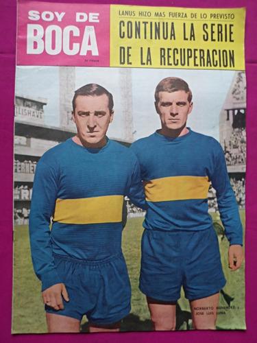 revista soy de boca n° 26 año 1966 boca juniors vs lanus