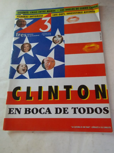 revista tres semanario uruguayo, dec 90, nº 132
