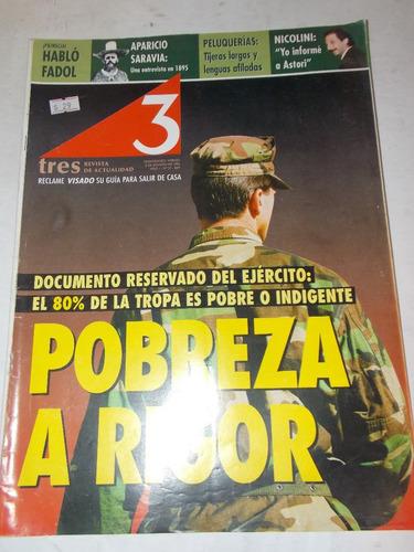 revista tres semanario uruguayo, dec 90, nº 27