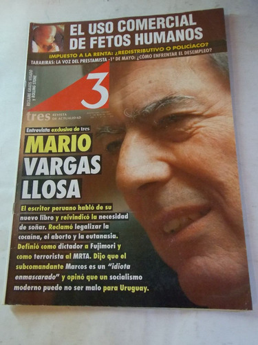 revista tres semanario uruguayo, dec 90, nº 65