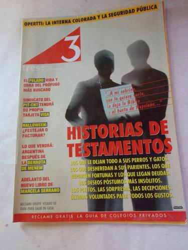 revista tres semanario uruguayo, dec 90, nº 91