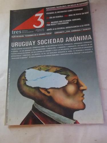 revista tres semanario uruguayo, dec 90, nº 97