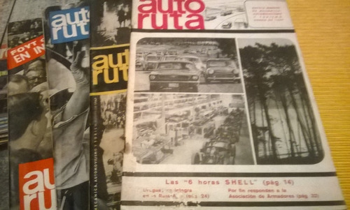 revistas de autos coleccionables