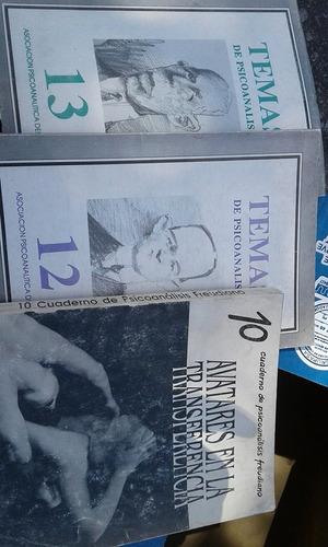 revistas de psicoanálisis de la apu no.10,12.13