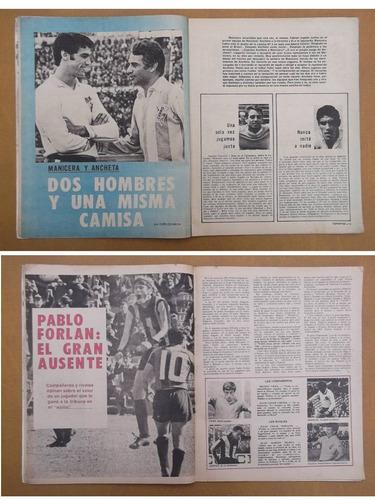 revistas deportes 1970-fútbol,peñarol,nacional,bella vista-r